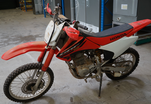 Honda CRF-150F Red Off Road Motorcycle - Insurance Salvage - NSW Pickup