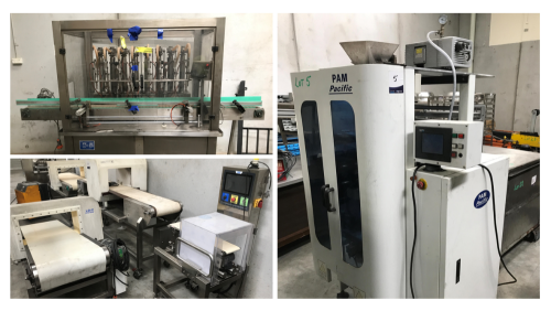 INSURANCE SALVAGE - Process and Packaging Equipment – Checkweighers, Metal Detectors, Colour Sorters, Fillers, Flow Wrappers, ForkLift and Compressor