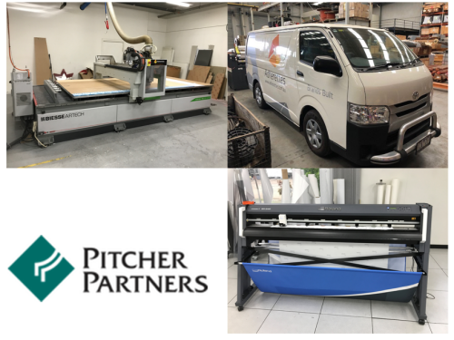 Liquidator's Auction - Sign Manufacturing, Woodworking, Vinyl cutting, Printing, Hiace Van
