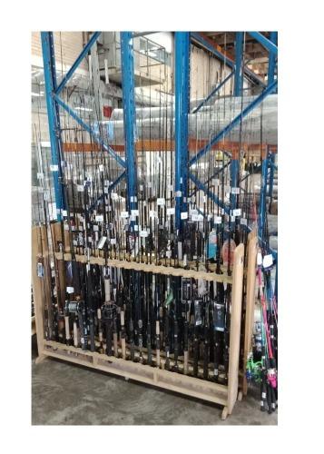 Graphite Spin Rod 2-4kg 7/' 2 Piece BRAND NEW Pflueger Trion II PFLTII