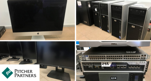 Liquidator's Auction - Apple Computers, Tower PC's, Notebooks, Servers and Monitors
