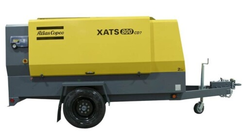 Atlas Copco XATS 800 CD7 Air Compressor Insurance Claim - NSW Pick Up