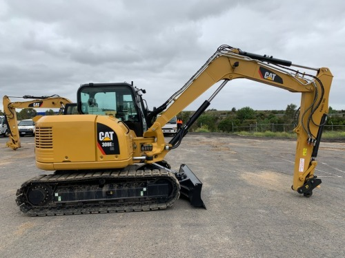 Major Civil Construction Machinery Auction Starting on Thursday 12 March