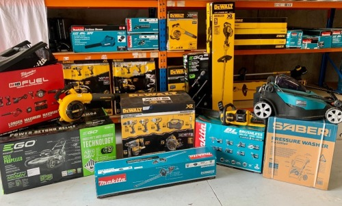 Big Brand Power and Hand Tools Insurance Claim - Makita, Bosch, DeWalt & More!