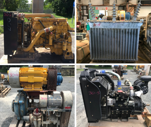 Unreserved Caterpillar/ Perkins Engines, Overhead Crane & Workshop Equipment
