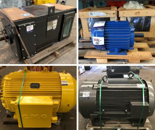 Auction of Electric Motors