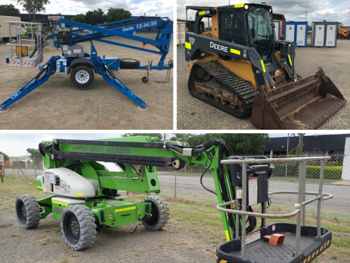 Offers Invited - Posi-Track Skid Steer, Nifty & Genie Lift EWP's
