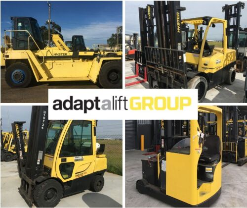 Ex Rental Forklifts, Empty Container Handlers and Reach Trucks