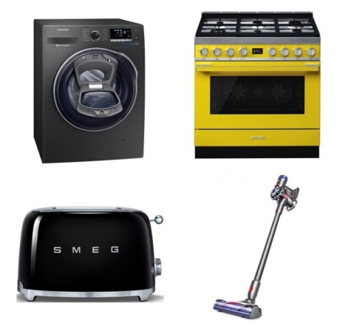 Massive Home Appliances Insurance Claim Sale Incl. Smeg, Fisher & Paykel Freestanding Cooker & Oven; Bosch & Electrolux Cooktop; LG & Samsung Washing Machine; Dyson Vacuum Cleaner and More - NSW Pick Up