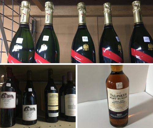 Local and Imported Wines & Spirits - Liquidator's Unreserved Sale
