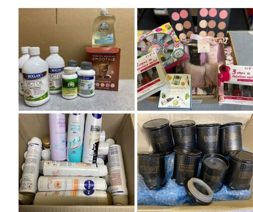 Big Brand Health and Beauty Product Insurance Claim Sale - Bulk lot of Garnier, Bioglan, Rexona, Rimmel, Bausch & Lomb, CooperVision Proclear and More - NSW Pick Up