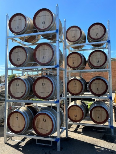 Stackable Wine Barrel Racks