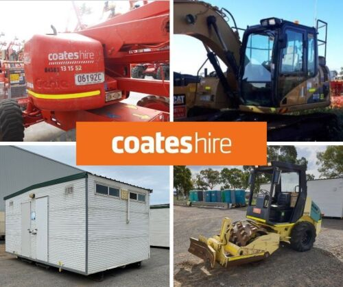 Coates Hire Excess Plant and Equipment