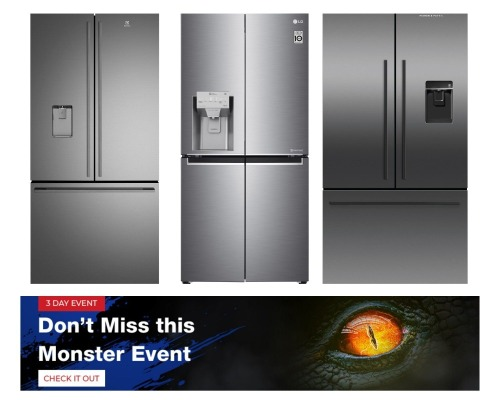 Monster Sale - Fridges and Freezers - All Buy Now prices are GST EX