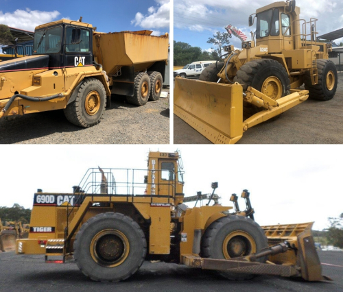 Expressions of interest – Various CAT equipment