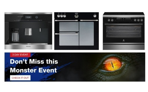 Monster Sale - Cooking & Kitchen Appliances - All prices are GST EX