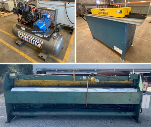 Unreserved Engineering & Fabrication Auction