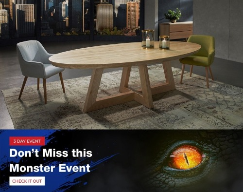 Monster Sale - Furniture - Lidcombe Pick Up - Buy Now prices are GST EX