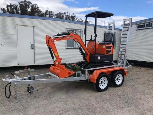 New - 2019 Kobolt KX10 Mini Excavator with Trailer