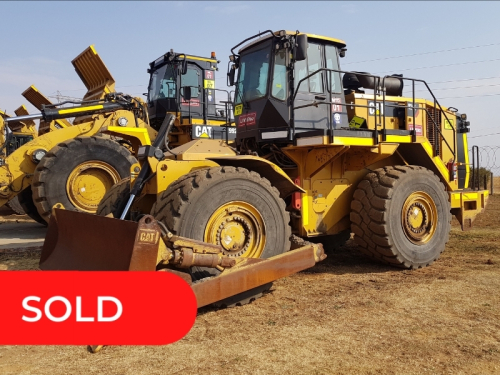 ** SOLD ** 2017 CAT 824K Wheel Dozer - Offered for Sale by Private Treaty