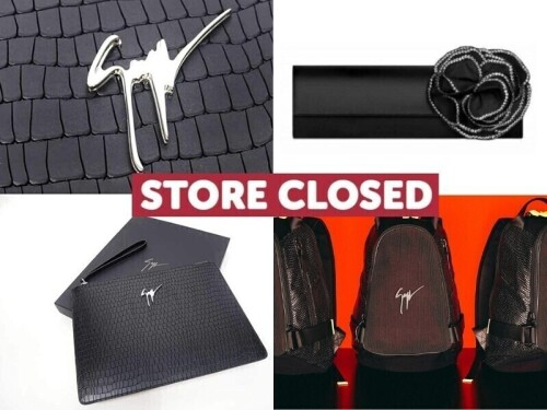 Giuseppe Zanotti Sydney Store Closure – Accessories - Free Delivery (Buy Now)