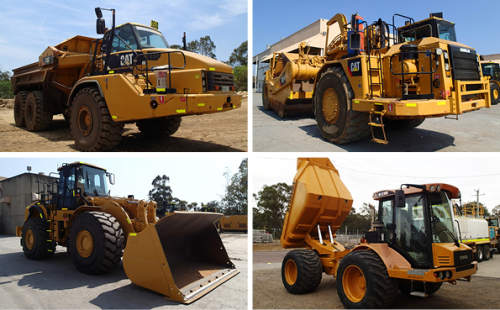 Major Civil Construction Equipment Auction - Scrapers, articulated trucks, dozers, wheel loaders