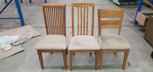 DNL Mixed Dinning Chairs