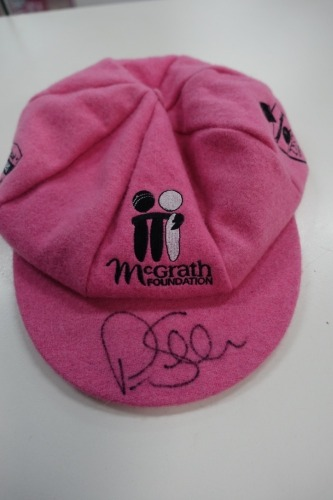 Peter Siddle Signed Pink Baggy