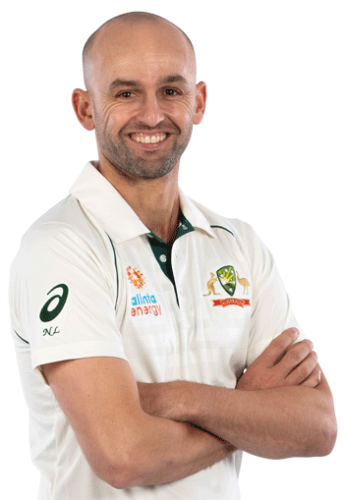 Pink Oakley Sunglasses worn by Nathan Lyon from the Australian Team