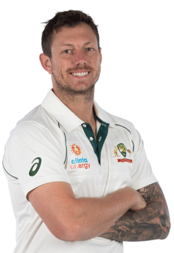 Pink Oakley Sunglasses worn by James Pattinson from the Australian Team