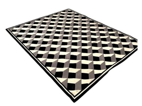 Piazza Geometric Pattern Rug by Greg Natale