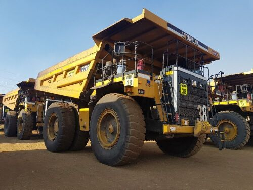 2017 Caterpillar 777E Rigid Dump Truck