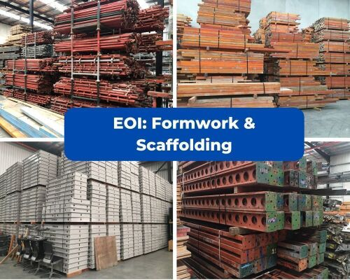 Expressions of Interest: Formwork & Scaffolding