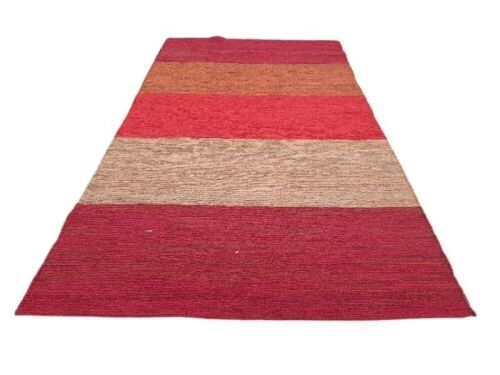 NATURES LOOM Design: Multi Blend Rug Colour: Multi Orange Size: 200x300 Hand Woven