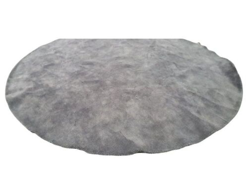 Rug-Round colour: Grey Size: 2960x2960