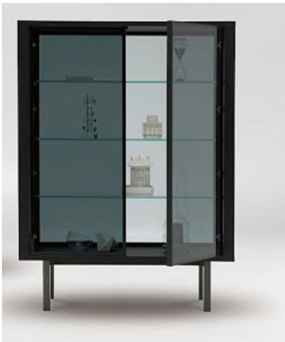 Stilts Glass Fronted Display Cabinet