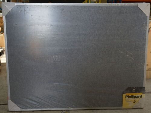 Velcro compatable pinboard, 1200 x 900mm