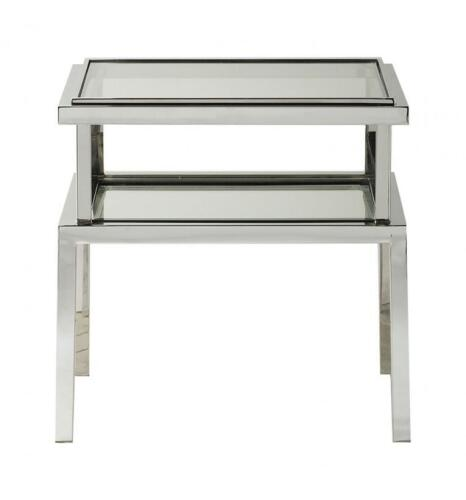 Salerno Side Table Silver 550x550x550mm