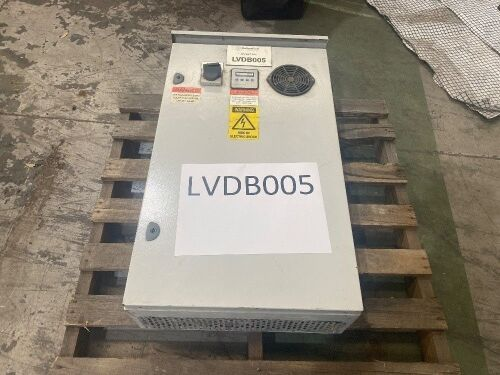 **Unreserved**LVDB005 - 2013 AGL Electroserve Low Voltage Distribution - Power Factor Correction Unit - 415V, 50kVAR