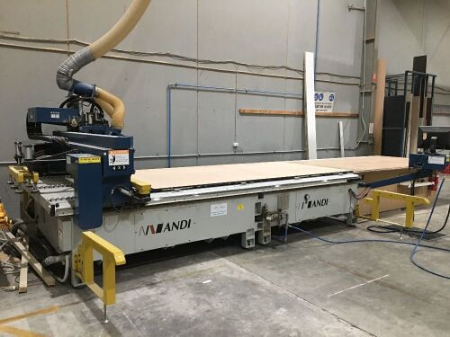 2007 Anderson Industrial Corporation Model: Selexx Pro CNC ROUTER with Pack lift table