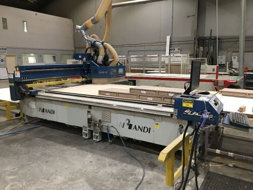 2007 Anderson CorporationModel: Selexx 3719 CNC ROUTER with Pack lift table
