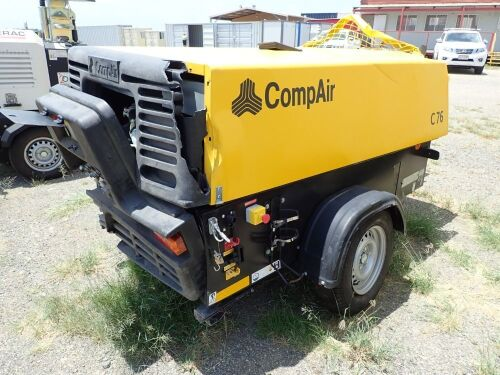 2019 Compair C76 Mobile Air Compressor