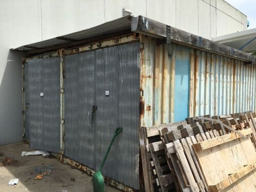 Qty 2 40' Storage Shipping Containers