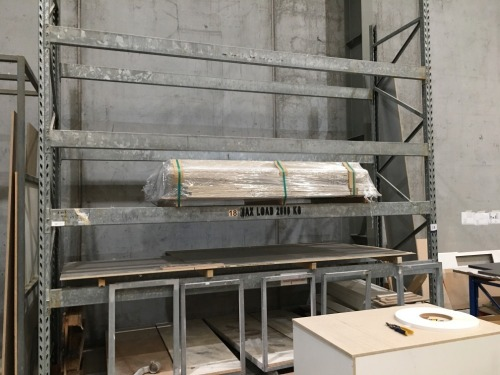 Pallet Racking Heavy Duty Galvanised, 4200mm H x 1060mm W, 8 Beams at 4000mm