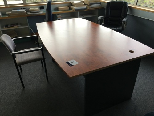 Boardroom Table (only half) & 4 x Chairs