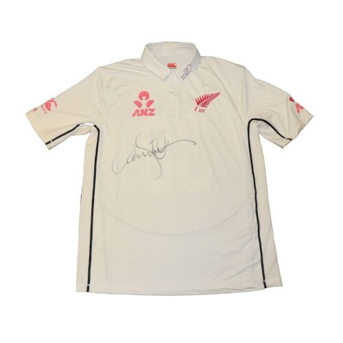 Tim Southee New Zealand Team Signed Playing Shirt