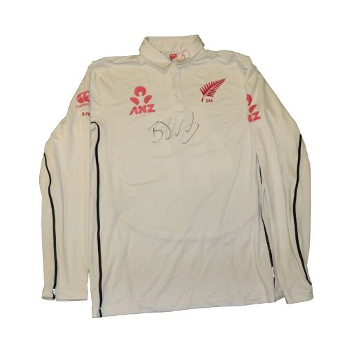 BJ Watling New Zealand Team Signed Playing Shirt