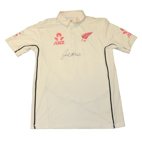 Todd Astle New Zealand Team Signed Playing Shirt