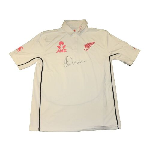 Colin de Grandhomme New Zealand Team Signed Playing Shirt