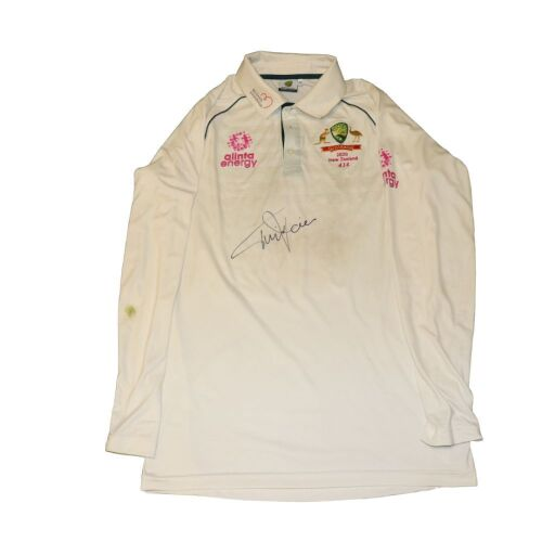 Tim Paine signed Australian Cricket Team Playing Shirt